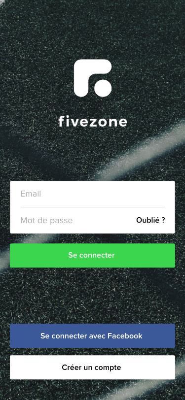 Splashscreen Application Mobile Fivezone